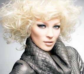 platinun blond hair