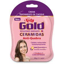 Tratamento de Choque Ceramidas Anti-queda - Niely Gold
