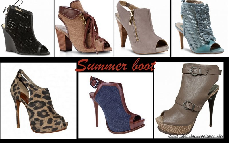 Blog 233 Como usar Ankle Boot, Summer Boot e Open Boot