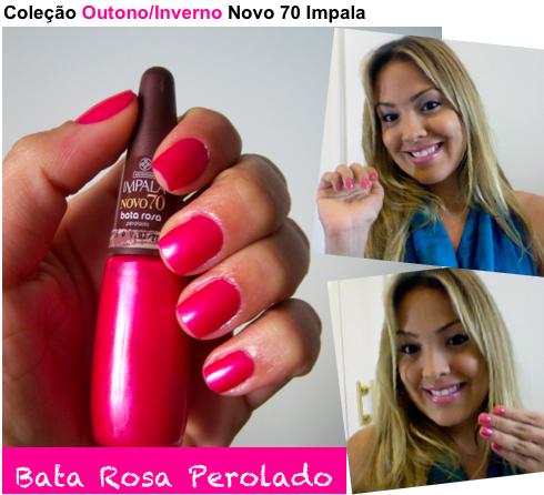 bata rosa - Esmalte #Impala Bata Rosa Perolado