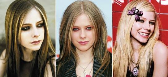 bbmix3131 1231531293 31 As madeixas coloridas de Avril Lavigne