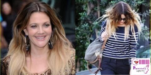 cabelos descoloridos com luzes californianas 500x250 e1312662954226 A Nova Moda dos Cabelos – Ombré Hair
