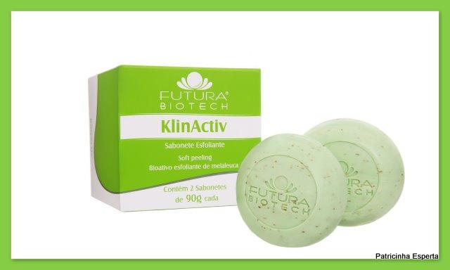 Blog73 11 - Sabonete Esfoliante KlinActive - Futura Biotech