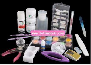 Kit de Unhas Acrilico   R$ 99,90