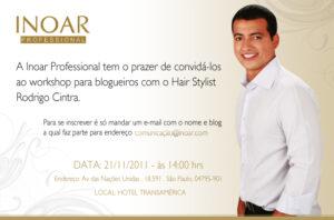Convite evento blogueiras
