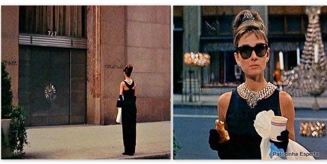 Além disso, a cena em que ela aparece tomando o seu café da manhã em frente  a uma das mais famosas grife de jóias, a Tiffany s, ficou eternizada para  sempre ... 5d72a4fdf0