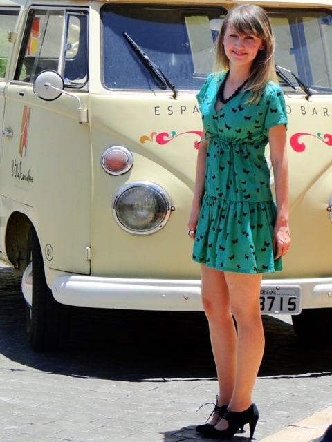 Vestido borboleta 06 - Adriana Antunes - Fique Linda para no Natal e Ano Novo...