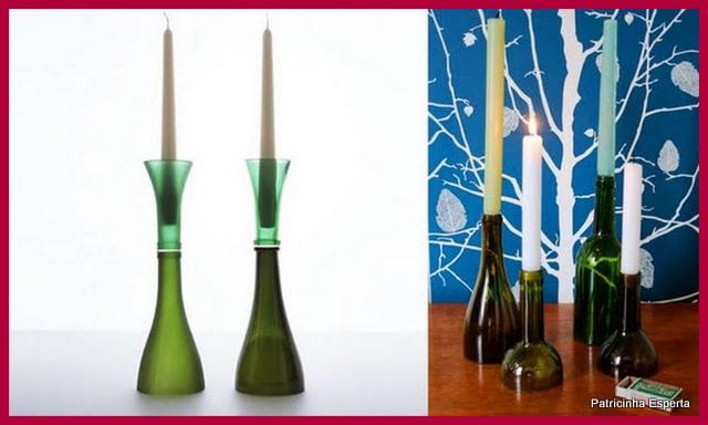 2012 01 046 Reutilizando Garrafas de Vidro na Decoração