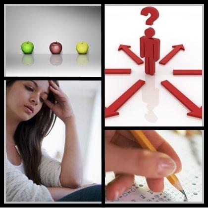 escolhas1 - Ansiedade diante das escolhas