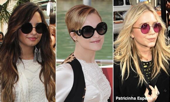 famosas oculos redondo22876 Óculos Redondos