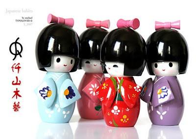 iii - Bonequinhas Kokeshi decoram cenários da globo