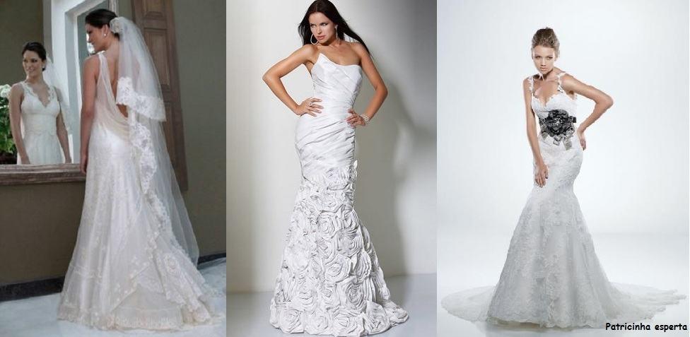 vestido de noiva de renda 2 - Noivas 2012 tendências