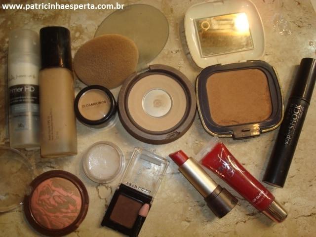 074post - Tutorial - Maquiagem Azul e Dourado para Baladas e Festas