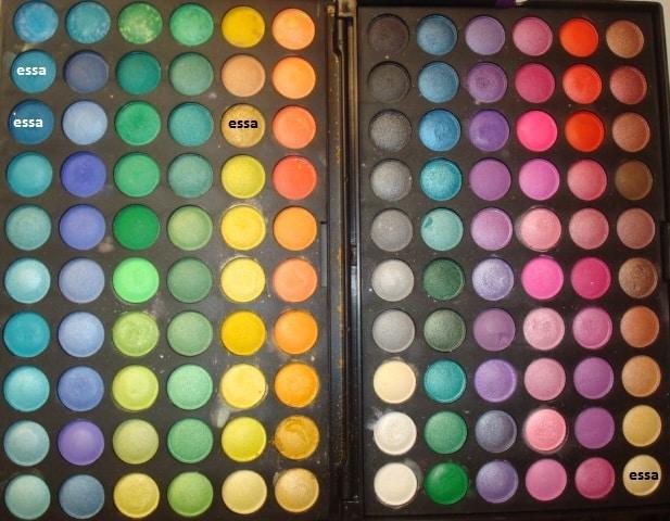 080post - Tutorial - Maquiagem Azul e Dourado para Baladas e Festas
