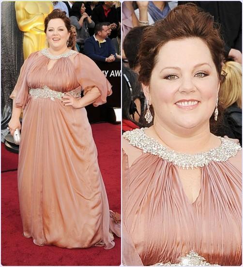 Melissa Mccarth - Os 5 melhores looks do Oscar 2012