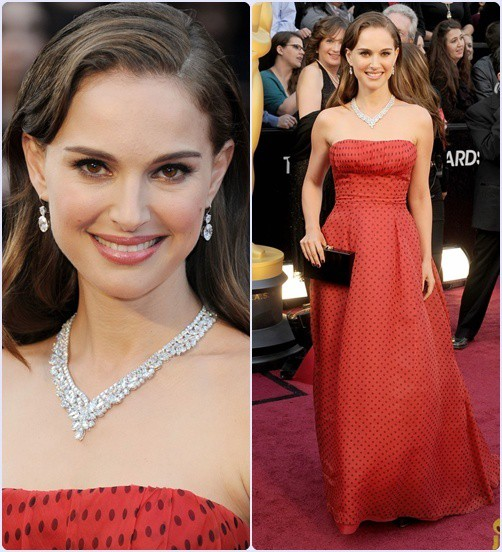 Natalie Portiman - Os 5 piores looks do Oscar 2012