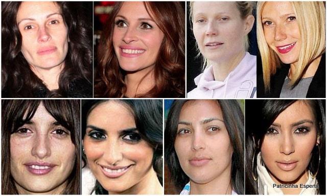 Patricinha Esperta221 - Celebridades: O Poder da Maquiagem