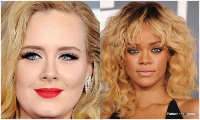 Patricinha Esperta28 - Makes do Grammy 2012