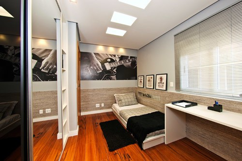 galeria imagens quartos pequenos projetos 04 - Chique e elegante!!!