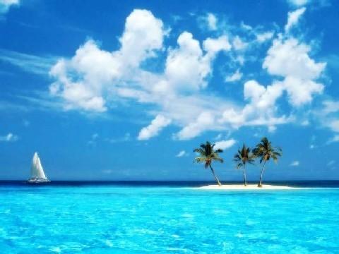 praia2 - Azul da cor do mar!
