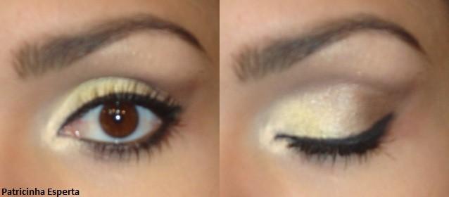 027post - Maquiagem amarelo claro com marrom