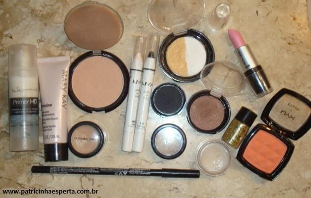 074post Tutorial   Maquiagem Dourada e Preta com Branco para Festas