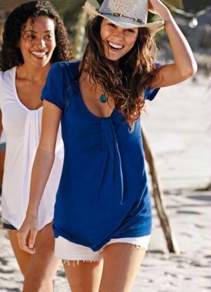 blusa manga curta azul 107711 301 2 Pechincha na Riachuelo