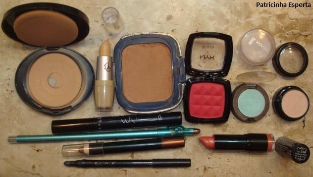 052post Maquiagem colorida para o dia   Testando lápis sombra Avon + lápis colorido Ruby Rose