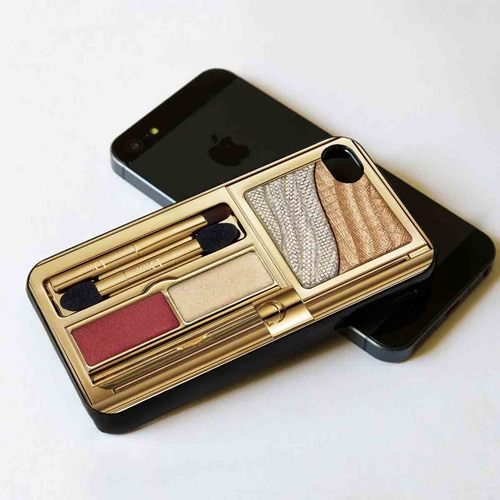 Christian Dior Gold Make-up IPhone