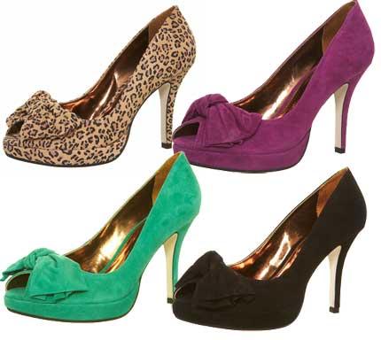 peep toe modelos Dicas de sapatos