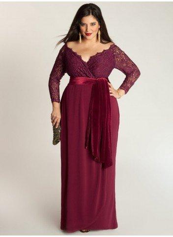 vestido para madrinha plus size gordinha - Vestido certo para Gordinhas