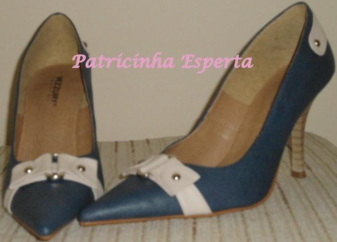 Azul - Comprinhas - sapatos