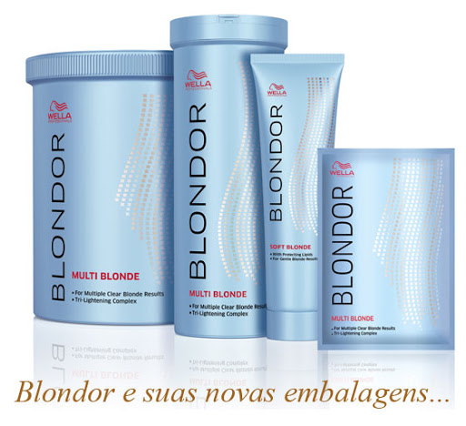 Wella Blondor Multi Blonde Powder Pó Descolorante