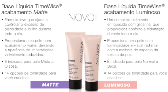 Base Time Wise Mary Kay Como Maquiar Peles Negras – Exemplos de Bases MAC e Mary Kay