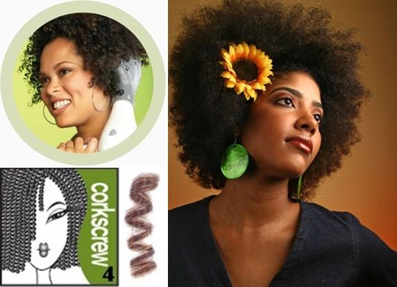 Cabelos Afros tipo 4 Deva Curl