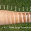 MAC tons de Nw Rosados1 105x105 - Como Maquiar Peles Negras – Exemplos de Bases MAC e Mary Kay