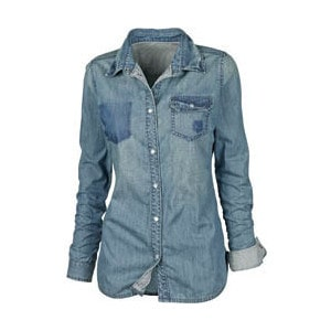 camisajeans - Camisa Jeans - a Moda voltou!