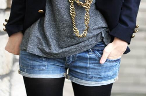Destaque jeans - Shorts Jeans! uma moda eterna!