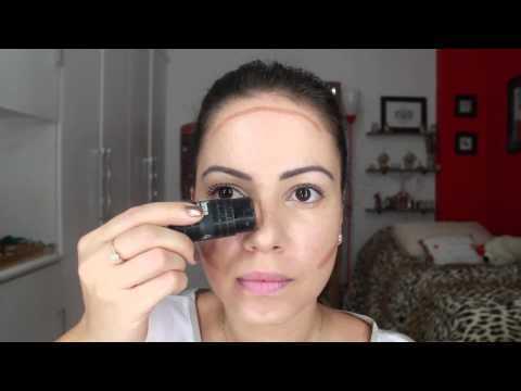 Contornos: Como Afinar o Rosto com Maquiagem - Patricinha ...