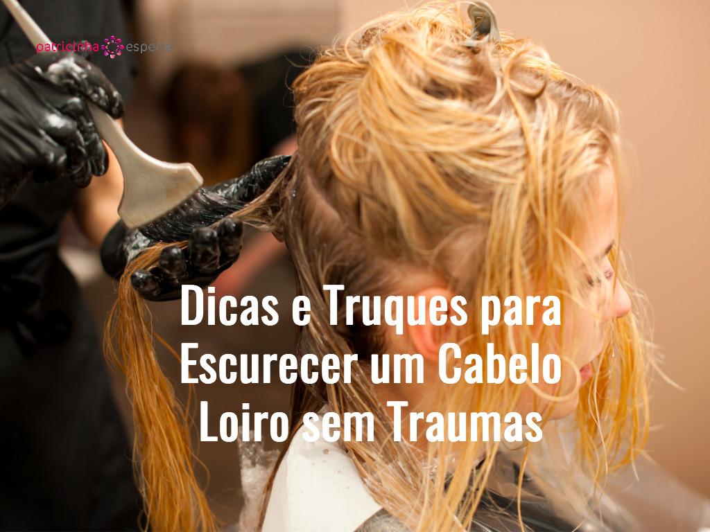 hair stylist at work hairdresser applying color on customer picture id636660174 - Dicas e Truques para Escurecer um Cabelo Loiro sem traumas
