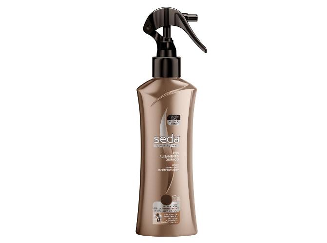 seda spray pos alisam - Melhores do Ano: Spray Defrizante Termoprotetor da Seda