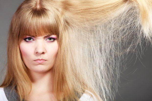 Efeito Chiclete no cabelo