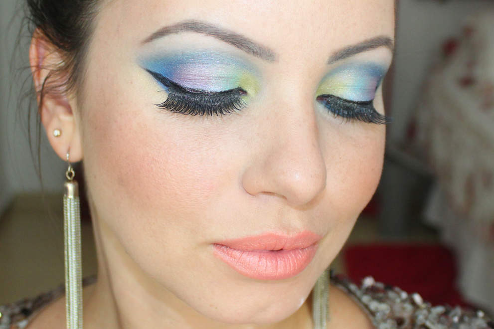 make color Tutorial: Maquiagem Colorida para arrasar no Carnaval