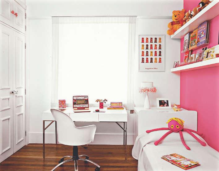 Borboleta Rosa Vaidosa Dicas de decoração para quartos  ~ Quarto Solteiro Pequeno Ideias