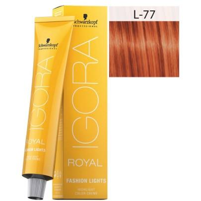 royal igora l77 - Ruivo Acobreado - Saiba como manter a cor intensa!
