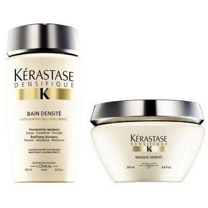 Kerastase Densifique Duo Kit Shampoo Bain Densite 250ml e Masque Densite 200ml  - Truques Básicos de Beleza