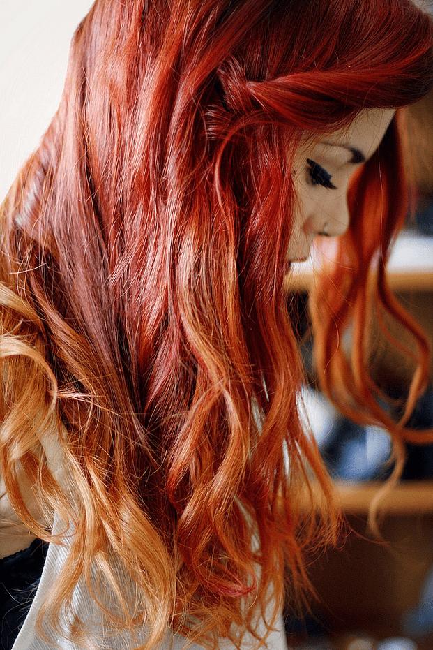 hairluap - Tendência: agora é a vez das ruivas arrasarem com o ombré hair