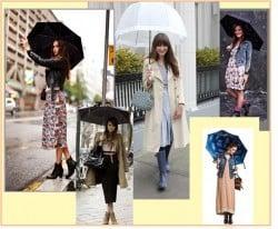 Roupas usar em dias de chuva?