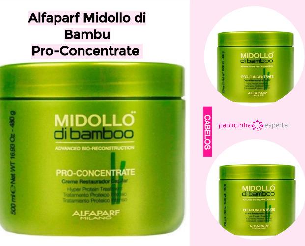 Alfaparf Midollo di Bambu Pro Concentrate - Produtos Para Cabelos Danificados: Favoritos - Top 10