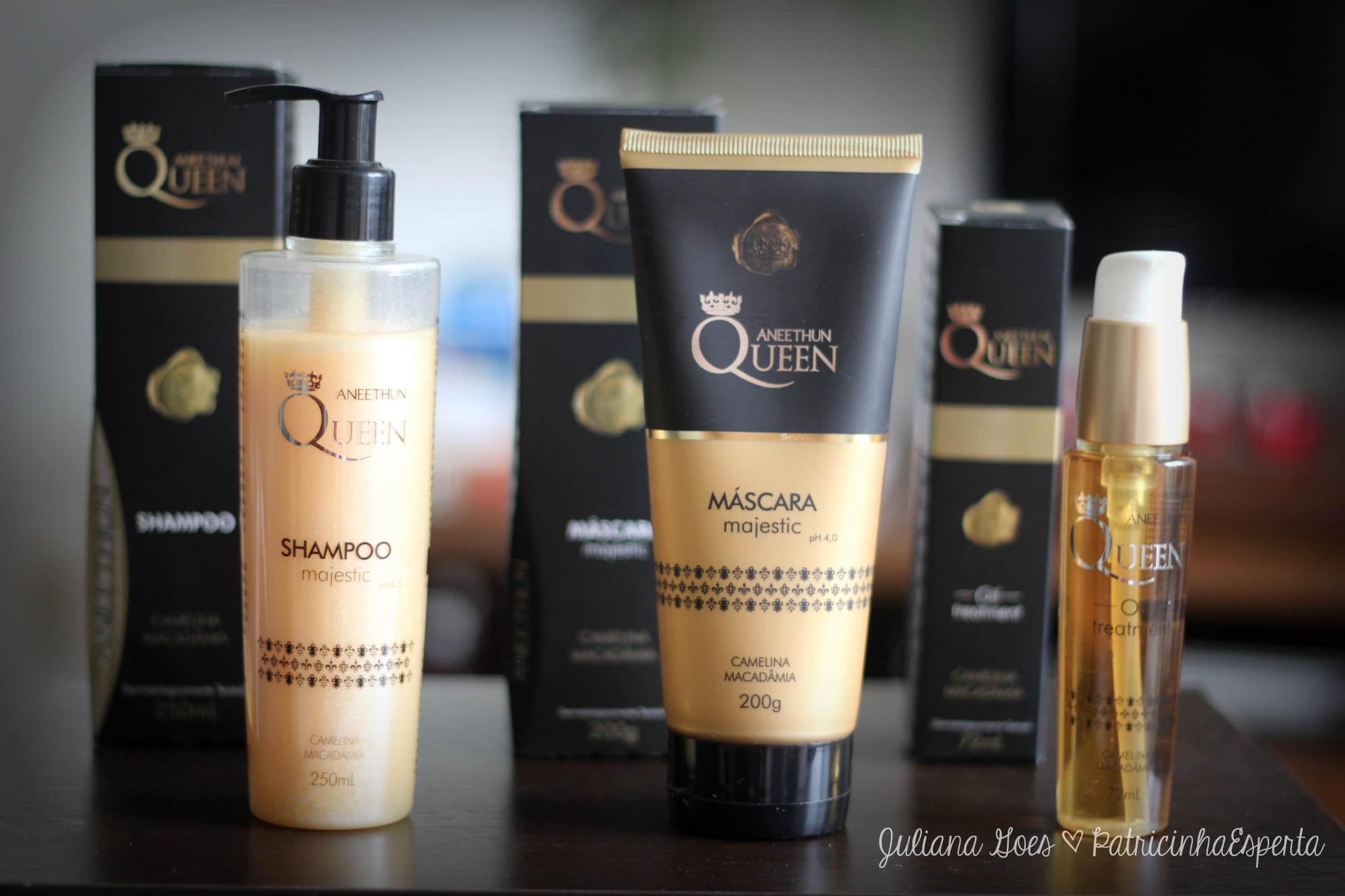 aneethun queen kit - Quer cabelos de Rainha? Conheça a linha completa Aneethun Queen
